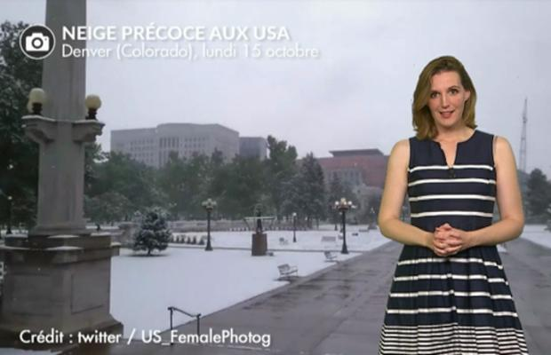 Neige et froid record aux USA